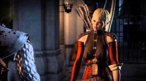 Dragon Age Inquisition - Meeting Sera