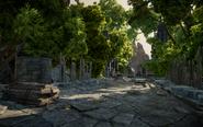 Die Erhabenen Ebenen - Die Straße nach Fort Revasan