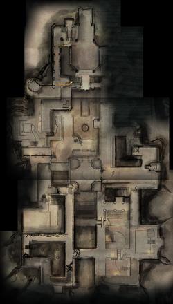Adamant Fortress Upper Level Map