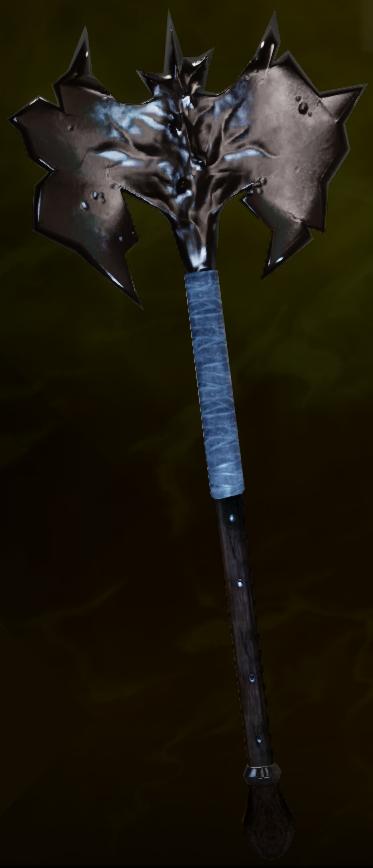 Jagged Battleaxe Schematic