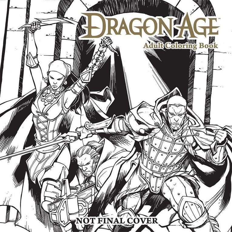 Mars80/Dragon Age Adult Coloring Book