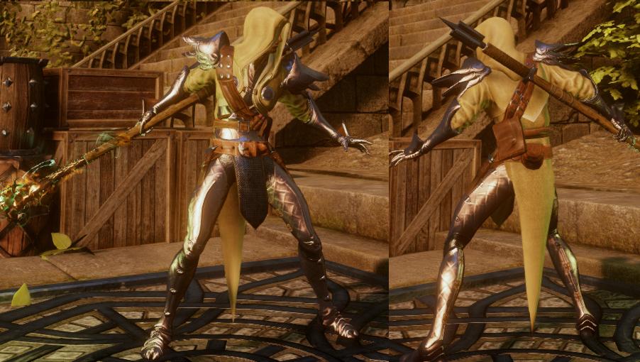 Enlightened Warrior's Armor (Spirit)