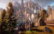 Elven Ruins - View from the Shrine