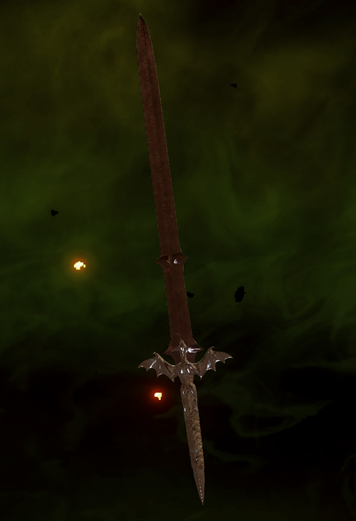 Longsword of the Dragon Schematic