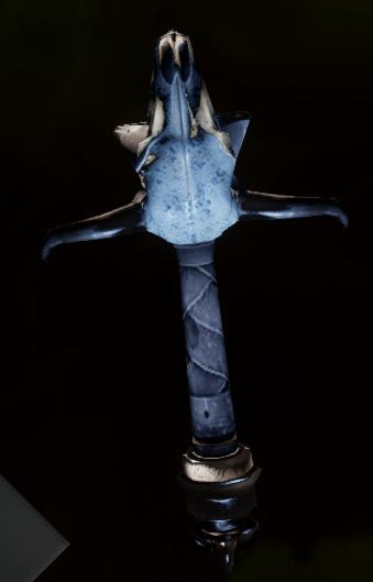 Masterwork Skull Grip Schematic