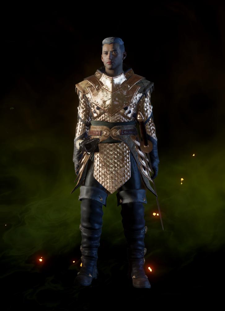 Дивная куртка мастера боя