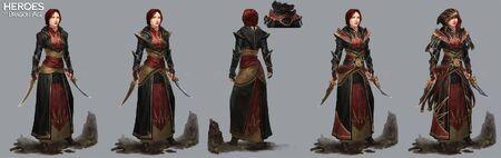 Сестра Лелиана (концепт) HoDA