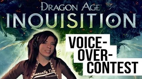 Dragon Age Inquisition - Voice Over Contest Tutorial-1