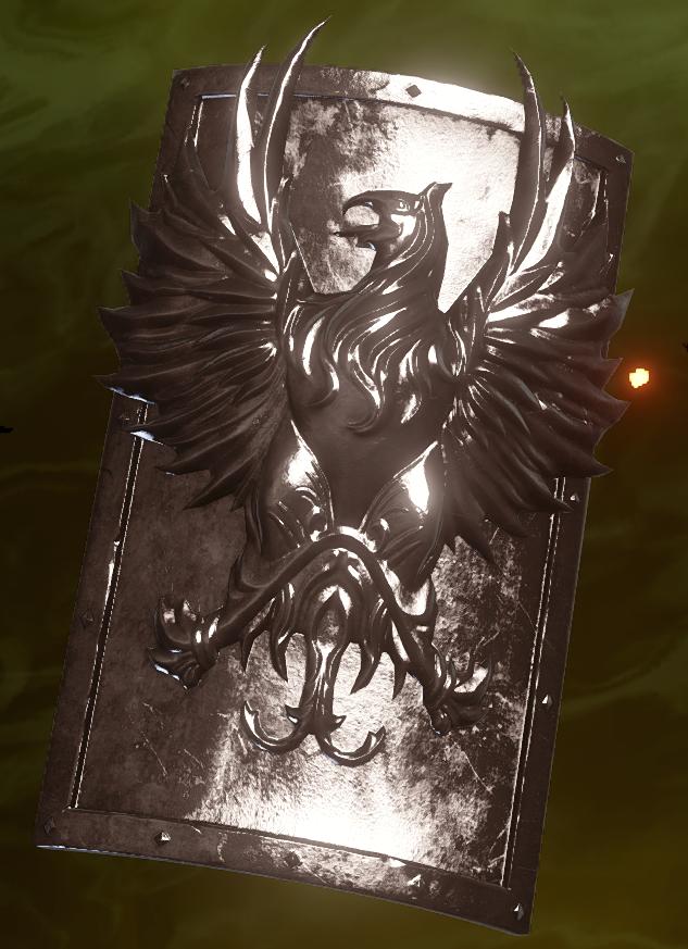 Grey Warden Shield Schematic