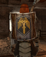 Kirkwall heraldry shield