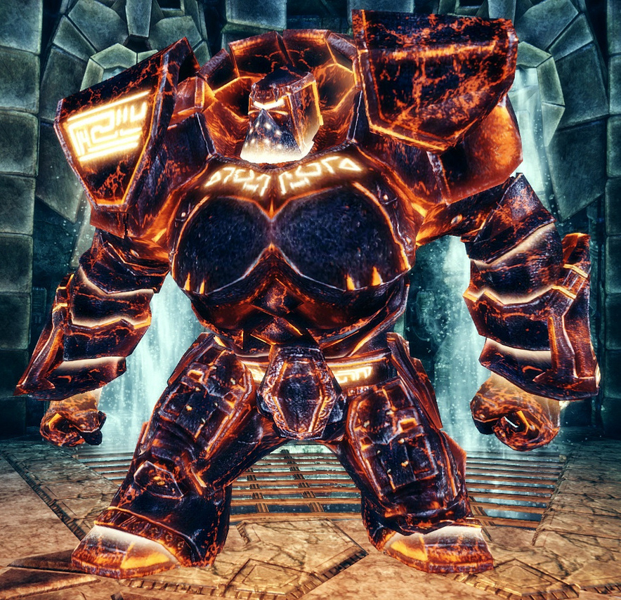 Codex entry: Inferno Golem