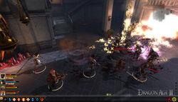 Dragon Age II gameplay