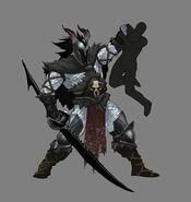 Qunari barbarian