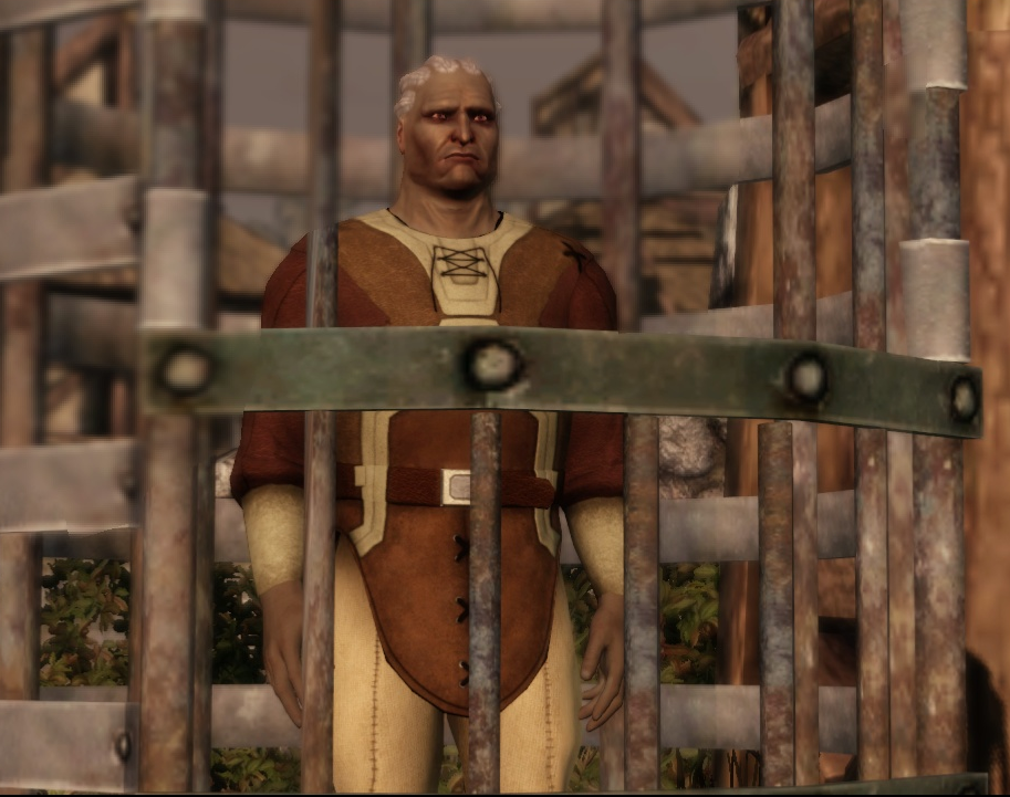 The Qunari Prisoner