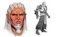Dragon Age Those Who Speak - Arte conceptual (Sten)