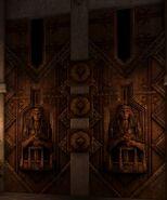Andraste Kathedralentüren DA2 Kirkwall
