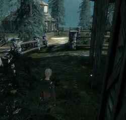 Haven Graveyard hidden access point