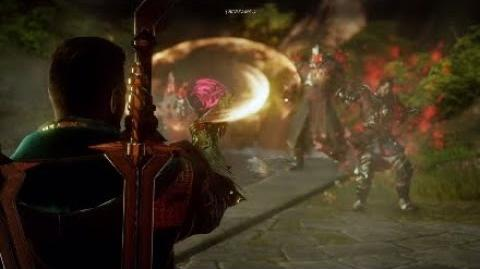 Dragon Age Inquisition - Samson (Armor Destroyed) Boss Fight -6 -Mages- (Nightmare Difficulty)