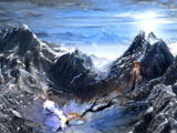 Codex entry: The Frostback Mountains