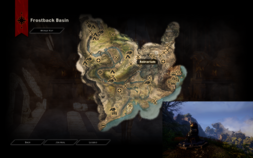 Belenas - location