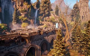 Elven Ruins - Long Bridge