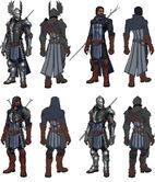 Grey Wardens armor