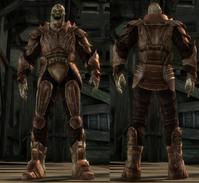 Darkspawn plate armor set (Hurlock)