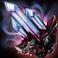 Большой безупречный электрический кристалл