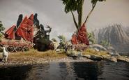 Die Erhabenen Ebenen - Lager der Dalish