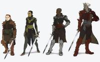 Female Inquisitor Armors