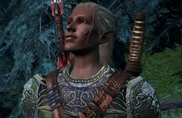 Zevran in Haven