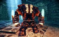 Inferno Golem's Back