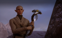 Solas going to Skyhold