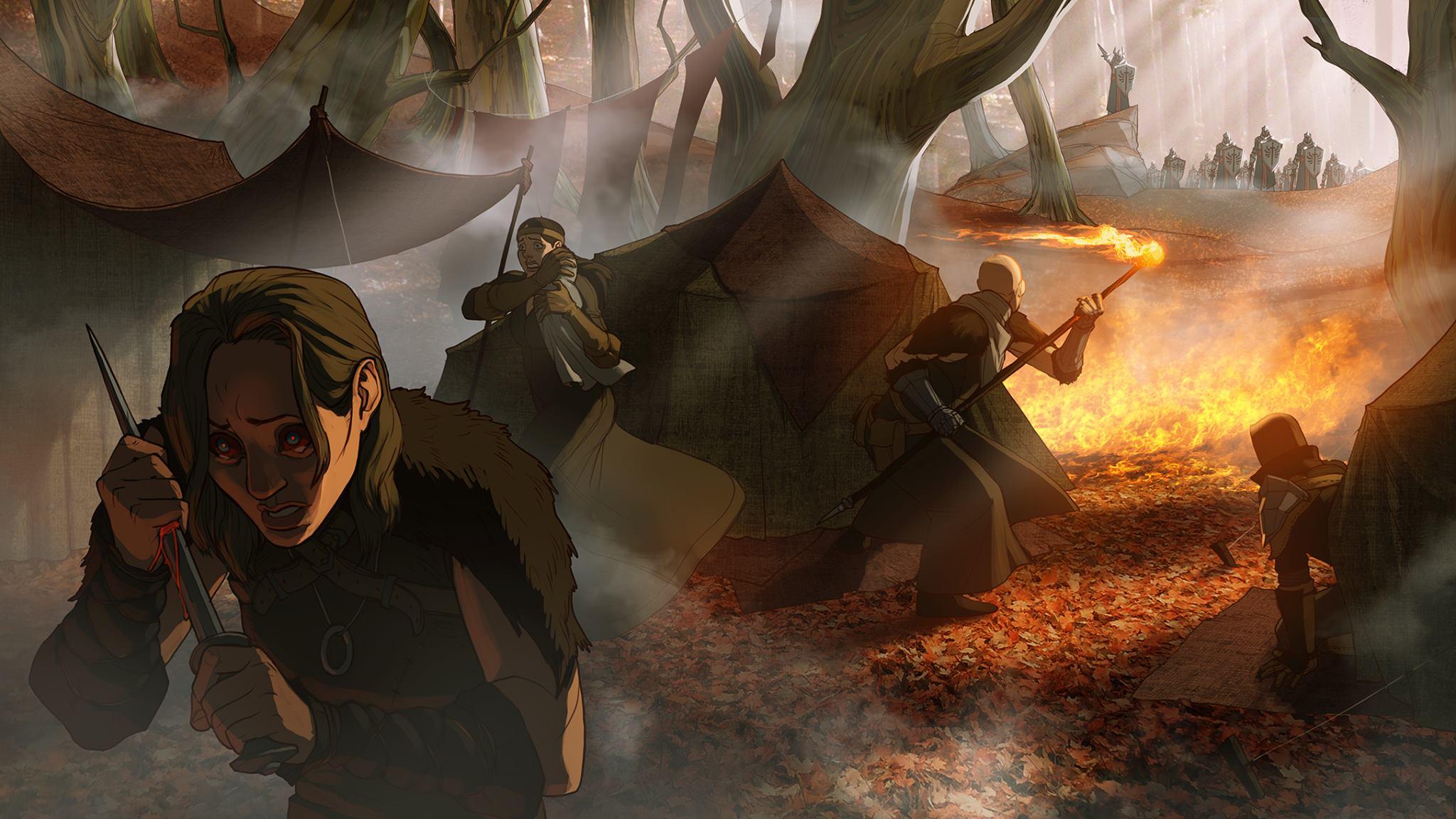 VengefulTemplar/Dragon Age: Inquisition - Neues Artwork