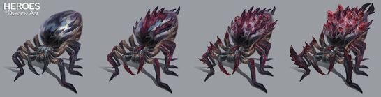 Оскверненная королева пауков концепт HoDA