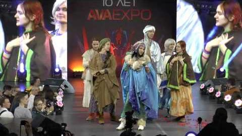 AVA Expo 2016 - Day 2 - Cosplay Stand Defile