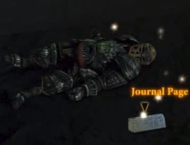 Codex entry: First Legionnaire's Journal