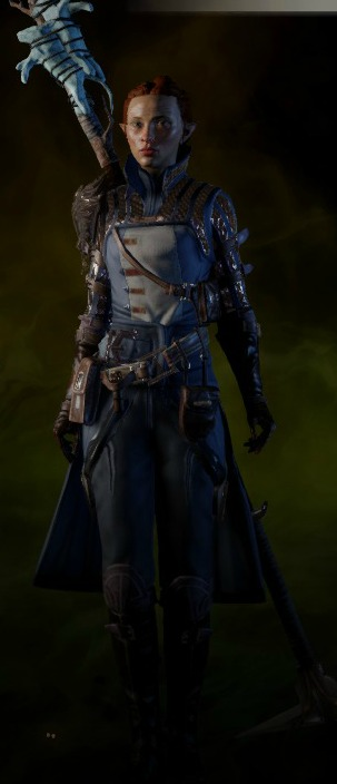 Warden Battlemage Armor