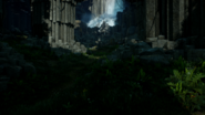 Storm Coast Waterfall Cave Interior
