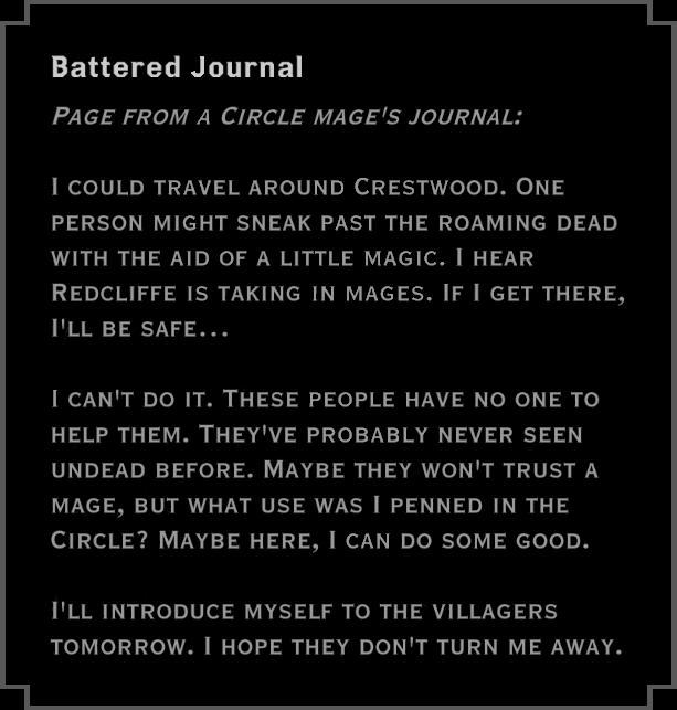 Note: Battered Journal