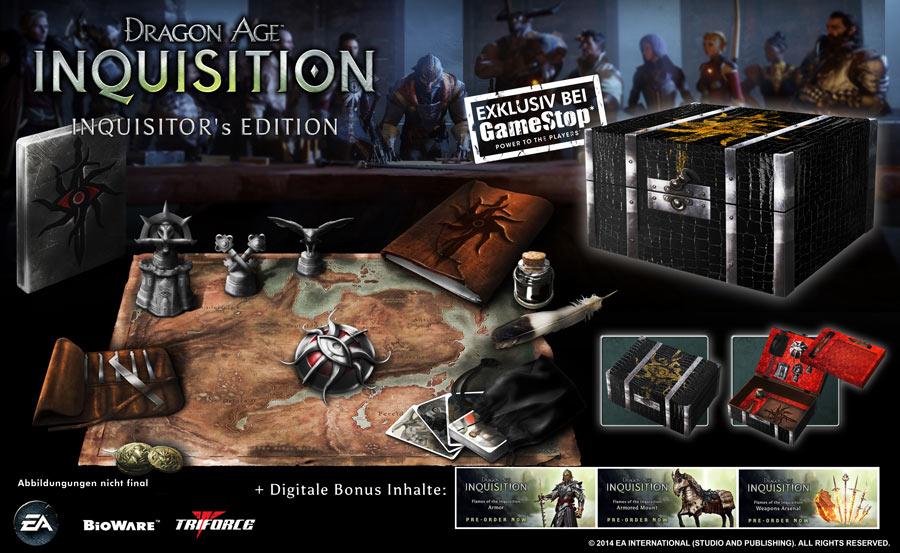 TemplarCode/Dragon Age: Inquisition – Inhalte der Inquisitor's Edition vorgestellt