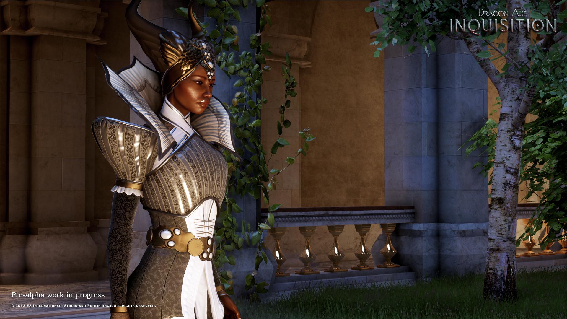 TemplarCode/Dragon Age: Inquisition – BioWare stellt die 'eiserne Lady' Vivienne vor