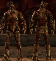 Darkspawn plate armor set (Hurlock Emissary)