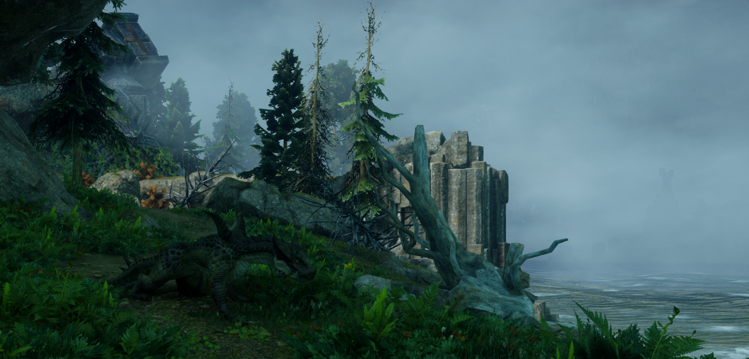 Драконий остров