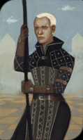 Warden Commander Clarel tarot