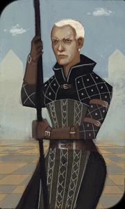 Warden Commander Clarel tarot