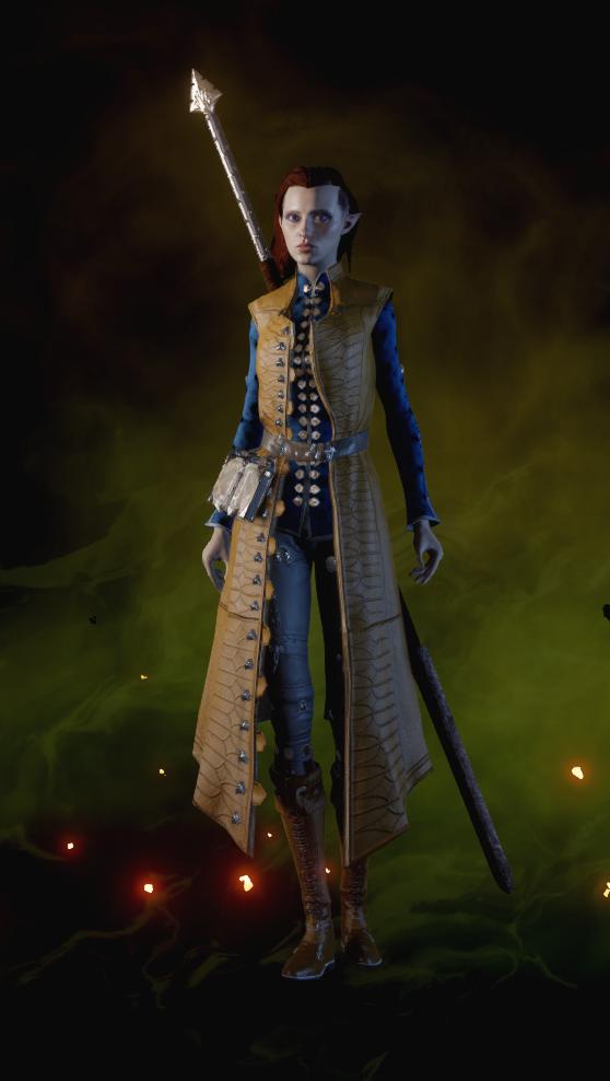 Дивная куртка чародея