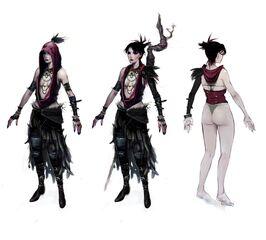 Morrigan concept art