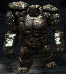 Stone golem - The Black Emporium
