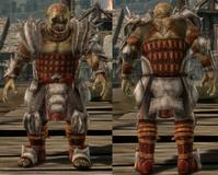 Darkspawn plate armor set Genlock